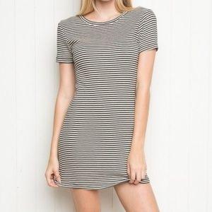 Classic Striped T-Shirt Dress